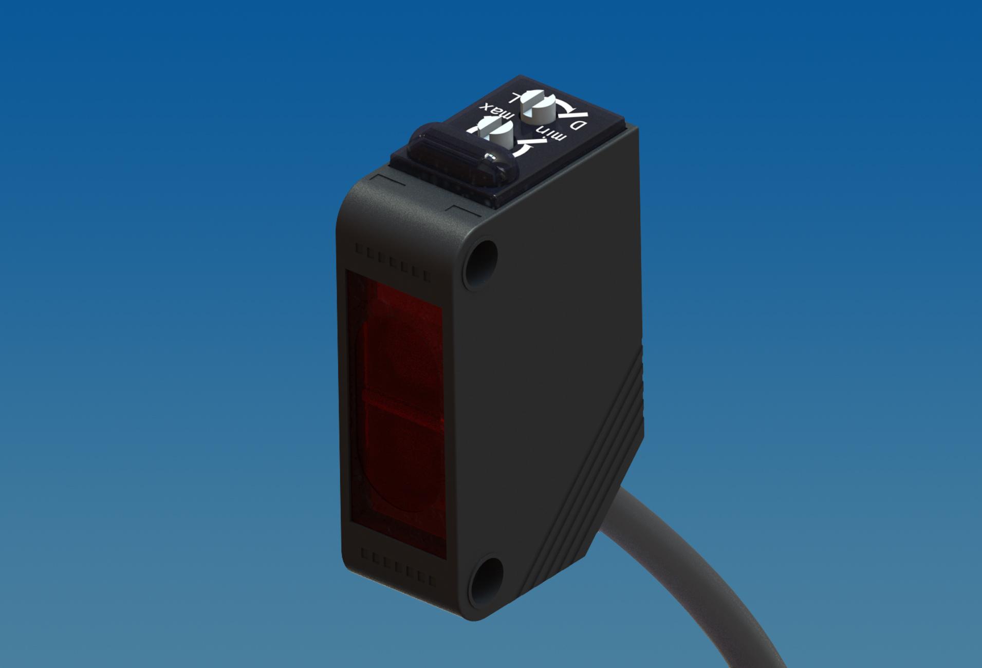 E3Z小方形漫反射光电开关