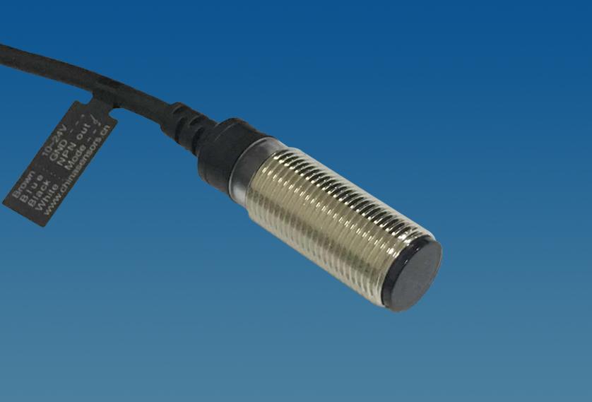 M12不锈钢柱形漫反射光电开关