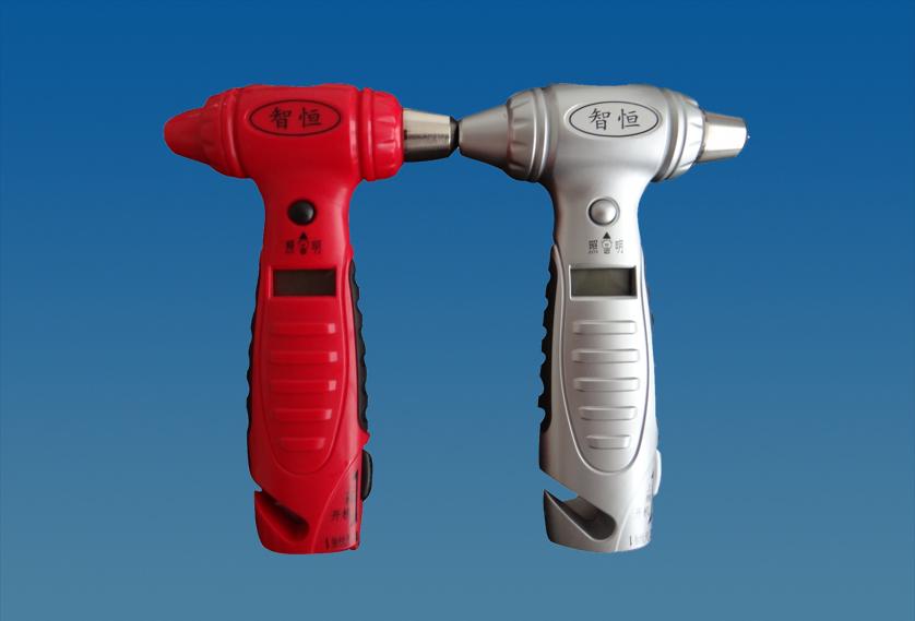 5合1安全锤胎压计 商务礼品可定制LOGO